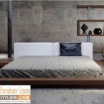 Tempat Tidur Jakarta Minimalis Jati Solid Modern