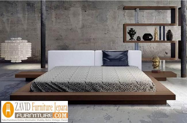 desain-tempat-tidur-minimalis-jakarta Tempat Tidur Jakarta Minimalis Jati Solid Modern