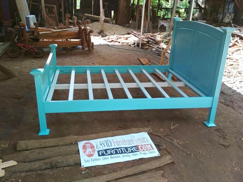 Jual-tempat-tidur-anak-minimalis-mahoni Toko Furniture Jepara | Spesialis Mebel Jepara Online Kota Ukir Terpercaya