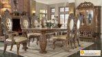 Kursi Meja Makan Ukir Mewah Eropan Klasik