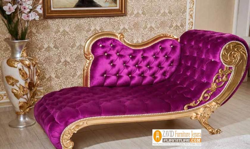 Kursi-Sofa-Santai-Panjang-Mewah-Josephin Kursi Sofa Santai Panjang Mewah Josephin