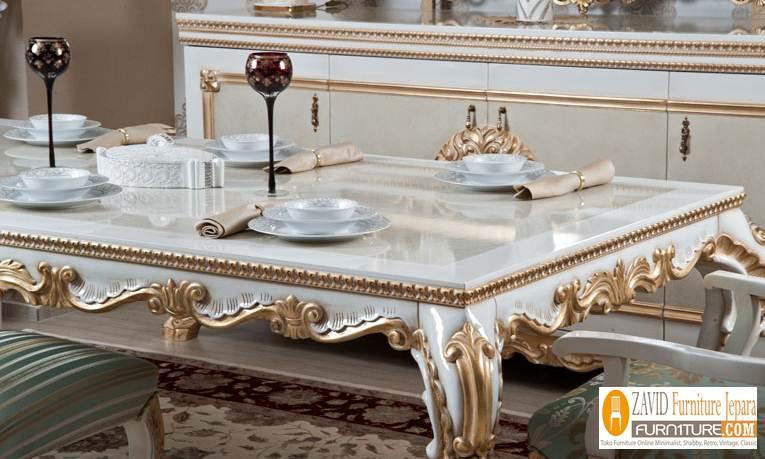 detail-meja-makan-ukiran-klasik Meja Kursi Makan Bekasi Duco Mewah