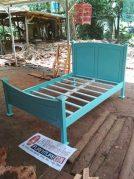 Tempat Tidur Dipan Anak  Minimalis Tosca Kayu Mahoni