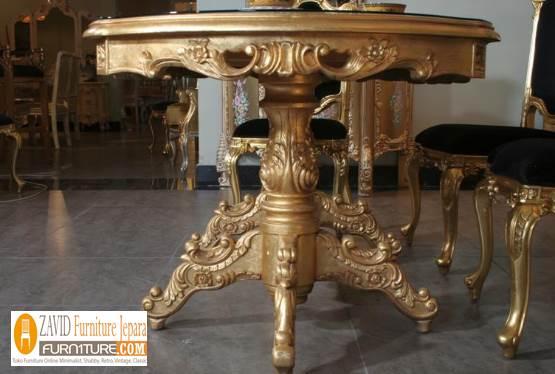 jual-meja-makan-mewah-ukiran-emas-model-terbaru-1 Meja Makan Mewah Ukiran Jepara Warna Gold Emas