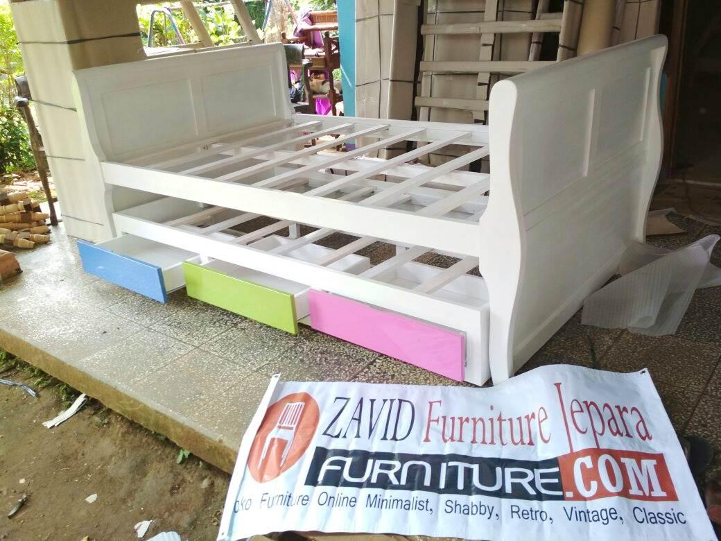 tempat-tidur-sorong-anak-terbaru Furniture Jepara | Zavid Toko Mebel Jepara Online Kota Ukir Terpercaya