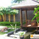 79+ Gazebo Minimalis Sederhana Kayu Jati Harga Murah Desain Terbaru