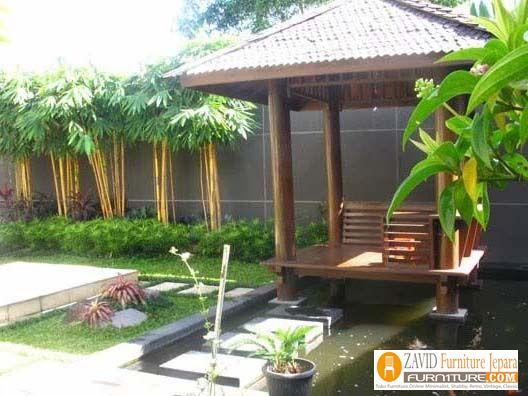 jual-gazebo-murah-minimalis-kayu-jati 79+ Gazebo Minimalis Sederhana Kayu Jati Harga Murah Desain Terbaru