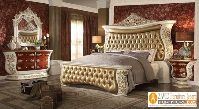 Jual-Tempat-Tidur-Mewah-Klasik 23+ Model Tempat Tidur Klasik Ukiran Mewah Terbaru Kayu Jati