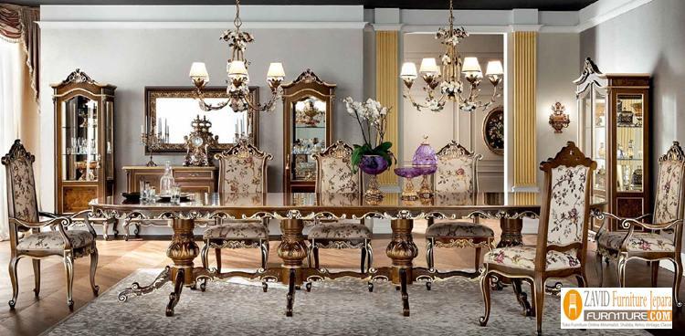 jual-meja-makan-klasik-mewah-kayu-jati 29+ Meja Makan Klasik Mewah Ukiran Modern