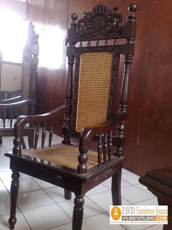 Kursi-Hakim-Pengadilan-Rotan-Minimalis Kursi Pengadilan Hakim Kayu Jati Relief Ukiran