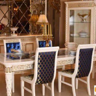 Meja Makan Mewah Bogor Eropa Klasik