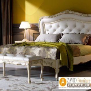 Jual Tempat Tidur Mewah Jogjakarta | Dipan Mewah Ukiran Jok Busa