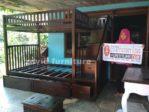 Tempat Tidur Tingkat Jakarta Kayu Jati Tangga Laci