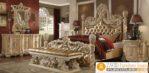 Set Kamar Tidur Ukir Jakarta Mewah Gold Klasik