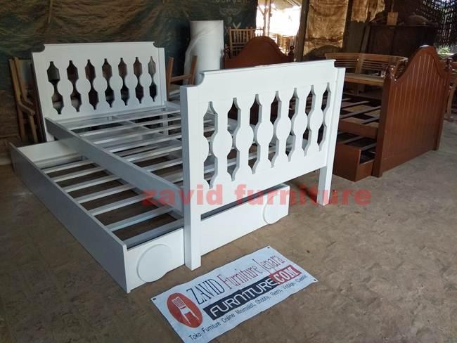 Tempat-Tidur-Sorong-Jakarta-Dipan-Anak-Minimalis-Kayu-Jati Furniture Jepara | Zavid Toko Mebel Jepara Online Kota Ukir Terpercaya
