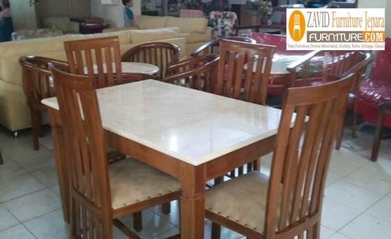harga-meja-makan-marmer-kotak 38+ Jual Set Meja Makan Marmer Minimalis Mewah Ukiran