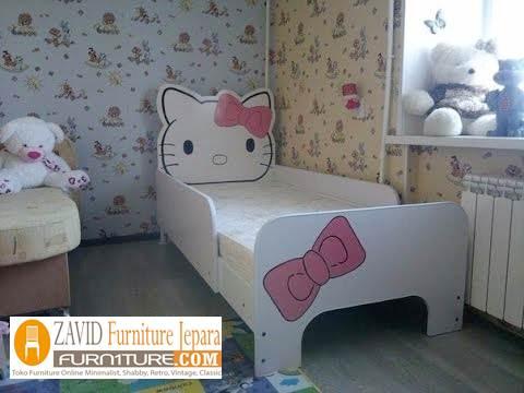 jual kamar set anak hello kitty terbaru - Kamar Set Anak Hello Kitty Perempuan Pink Unik