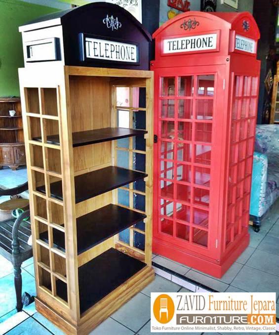 lemari-telephone-variasi-warna Jual Lemari Telephone London Inggris Vintage, Box Harga Murah