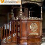 Harga Mimbar Masjid Kubah Model Minimalis Kubah Ukiran