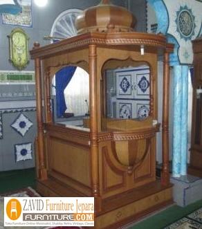 mimbar-masjid-kubah-minimalis. Harga Mimbar Masjid Kubah Model Minimalis Kubah Ukiran