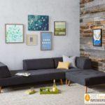 Jual Kursi Tamu Sudut Retro Minimalis Sofa