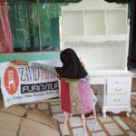 Jual Meja Belajar Anak Bekasi Minimalis Warna Putih