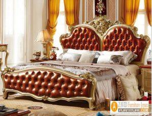 Jual Tempat Tidur Bekasi Mewah Ukiran Klasik Terbaru