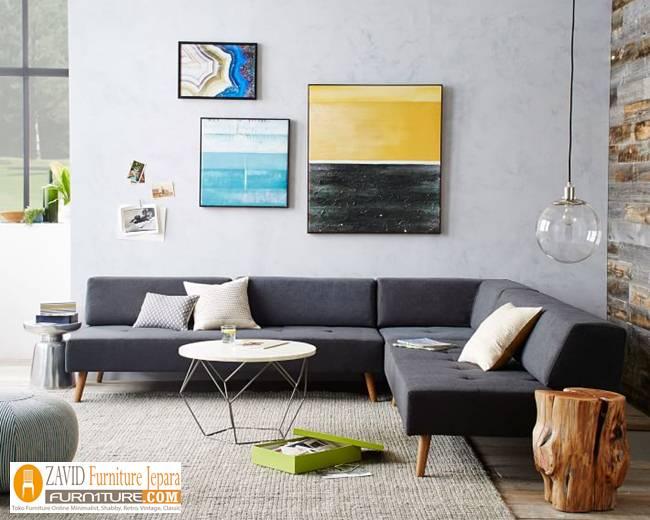 Kursi-Tamu-Retro-Model-Sudut Jual Kursi Tamu Sudut Retro Minimalis Sofa