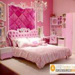 Tempat Tidur Anak Perempuan Karakter Princess