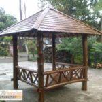 Jual Gazebo Taman Atas Sirap Harga Murah