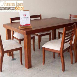 Kursi Cafe Semarang Model Baru Kursi Minimalis Kayu Jati