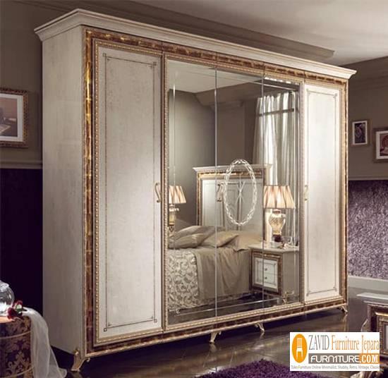lemari-6-pintu Harga Lemari Pakaian 5 & 6 Pintu Kayu Jati Solid Mewah