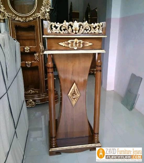 Mimbar-Masjid-Podium-Minimalis Podium Masjid dan Mimbar Masjid Minimalis, Jual Harga Murah