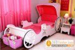 Tempat Tidur Anak Unik Karakter Kereta Kencana Princess