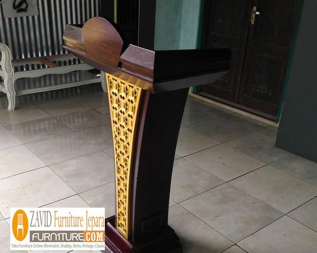 harga-podium-minimalis Podium Masjid dan Mimbar Masjid Minimalis, Jual Harga Murah