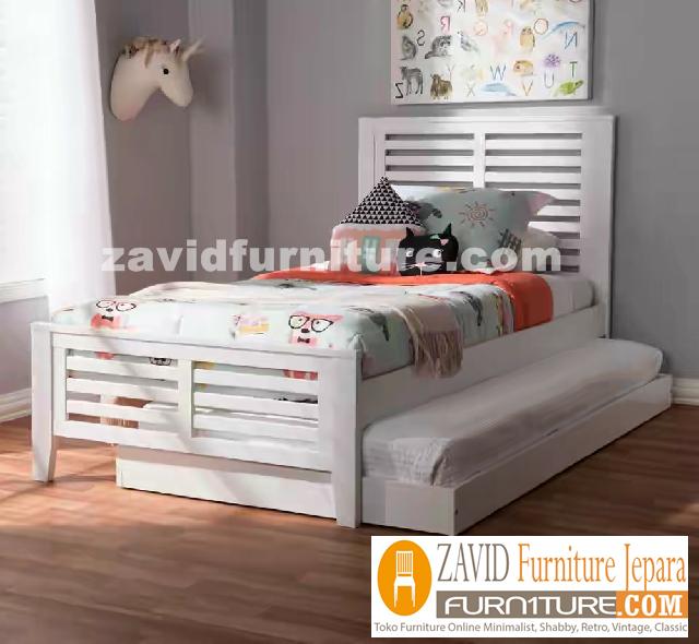 tempat tidur sorong - Tempat Tidur Anak Bogor Sorong Minimalis Duco