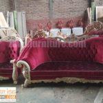 Jual Kursi Tamu Jati Mewah Lampung Modern Terbaru