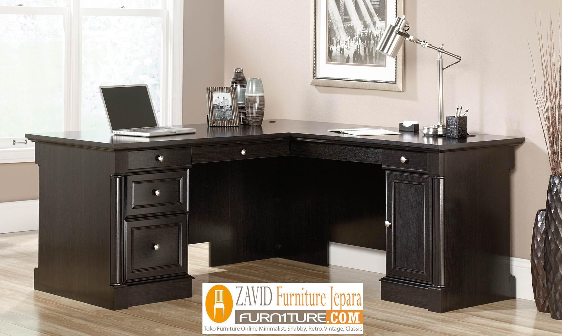 meja-kantor-model-L Meja Kantor Minimalis Model L