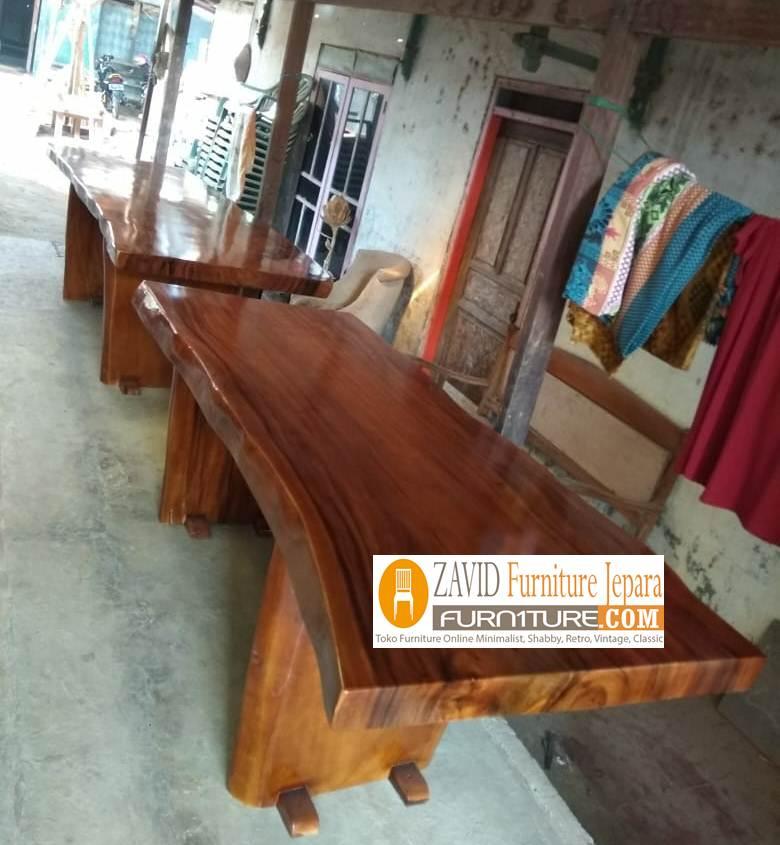 meja makan trembesi 4 - Jual Meja Makan Trembesi Kota Solo Terbaru