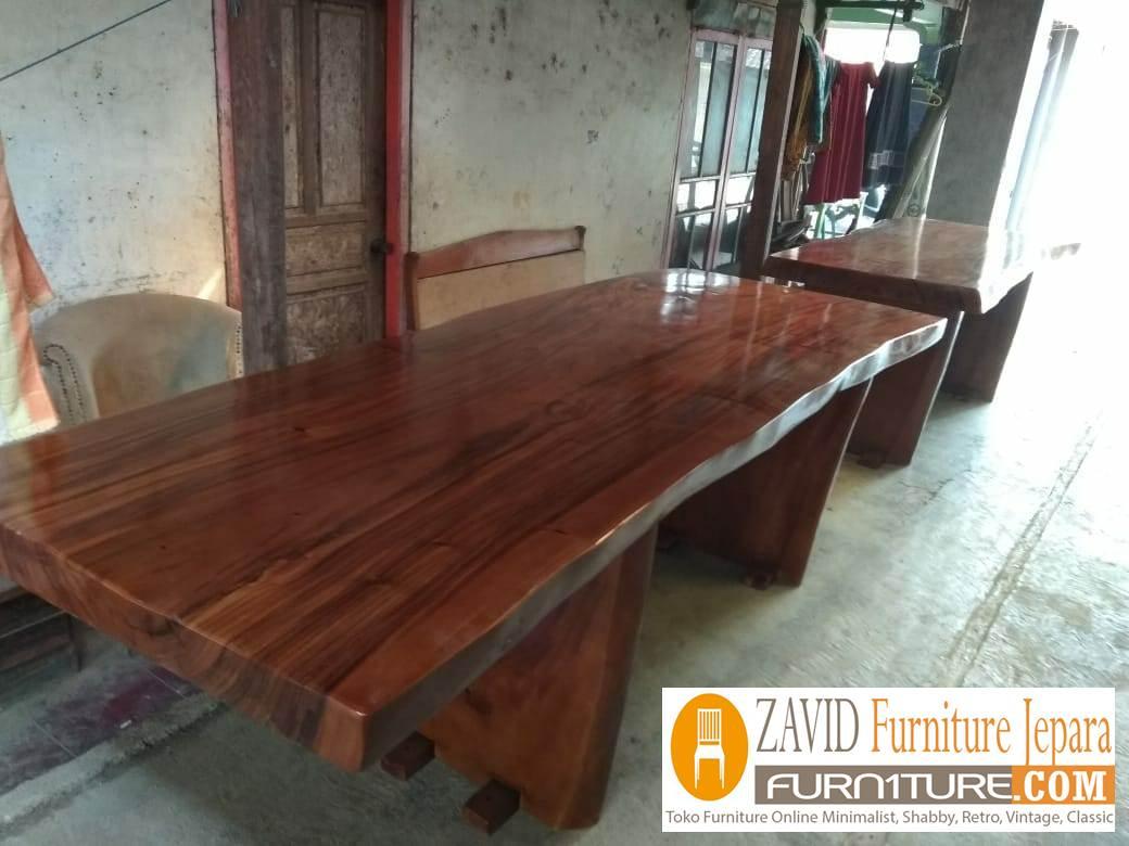 meja makan trembesi1 - Jual Meja Makan Trembesi Kota Solo Terbaru