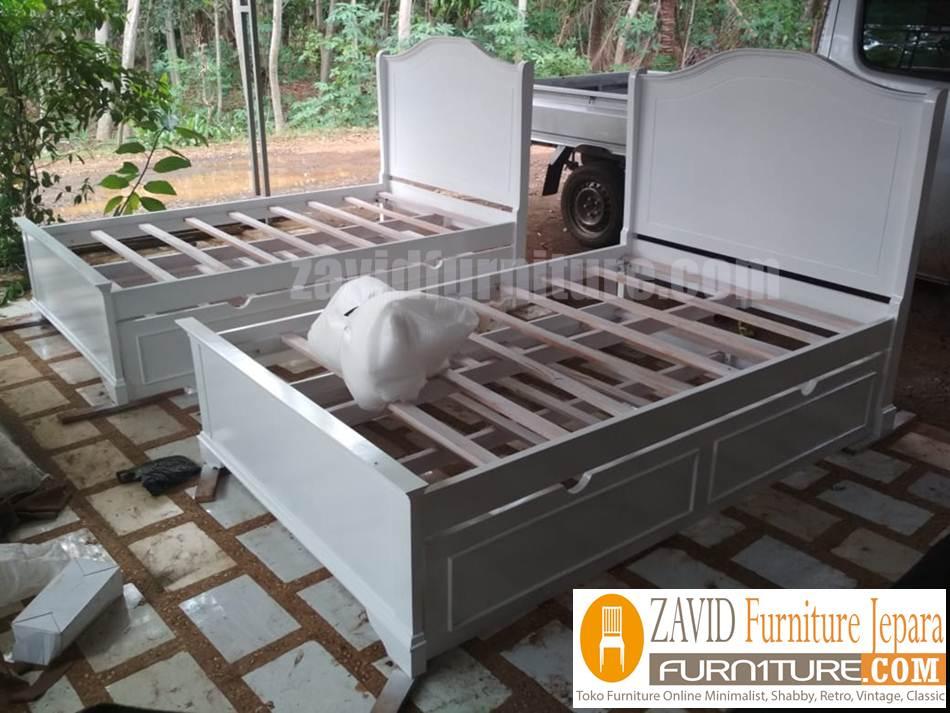 realpict 4 - Jual Tempat Tidur Anak Solo model Sorong Minimalis Duco