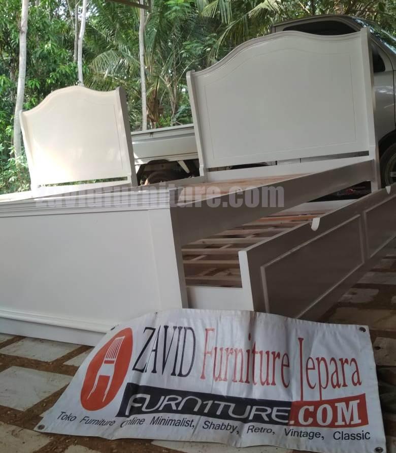 realpict - Jual Tempat Tidur Anak Solo model Sorong Minimalis Duco