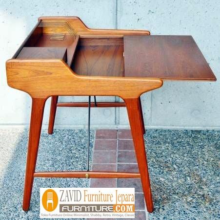 meja belajar minimalis kayu jati - Jual Meja Belajar Surabaya Minimalis Kayu Jati Model Unik Terbaru