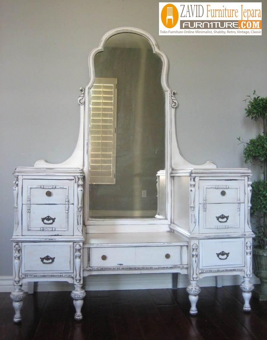 meja-rias-mewah-duco Jual Meja Rias Mewah Cantik Vintage Model Kaca Besar