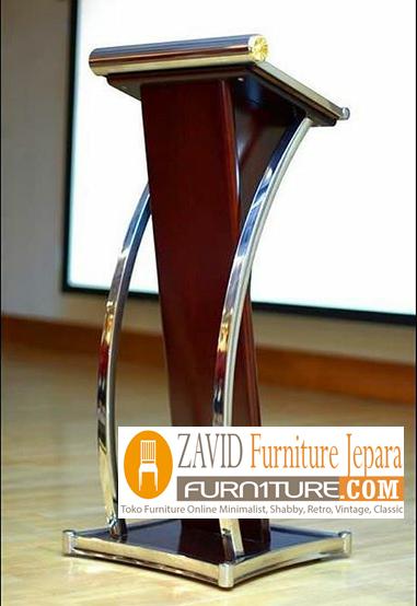 mimbar stainless - Jual Mimbar Podium Stainless steel Minimalis Modern