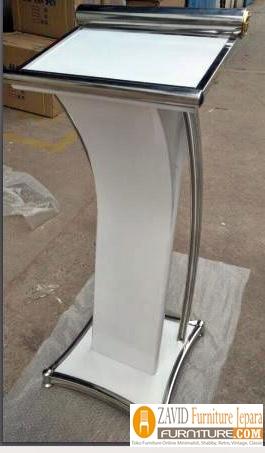 podium mimbar minimalis - Jual Mimbar Podium Stainless steel Minimalis Modern