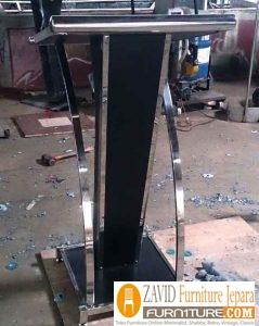 podium stainless2 - Jual Mimbar Podium Stainless steel Minimalis Modern