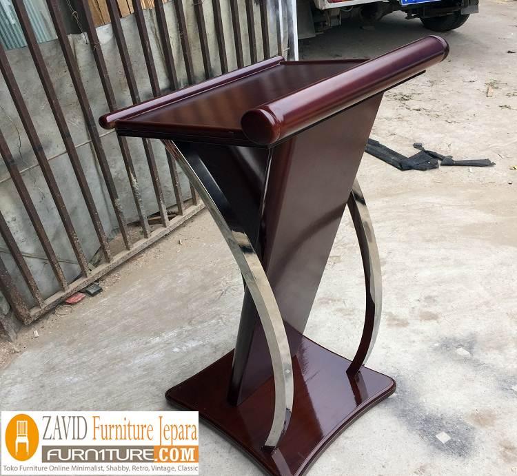podium stainless4 - Jual Mimbar Podium Stainless steel Minimalis Modern