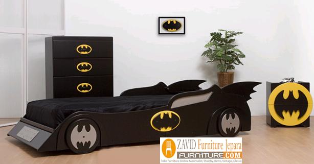 temppat-tidur-anak-laki-laki-karakter Tempat Tidur Anak Laki-Laki Karakter Mobil Minimalis