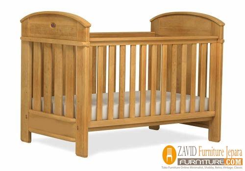 tempat-tidur-bayi-kayu-jati Jual Tempat Tidur Bayi Semarang kayu Jati Solid Minimalis